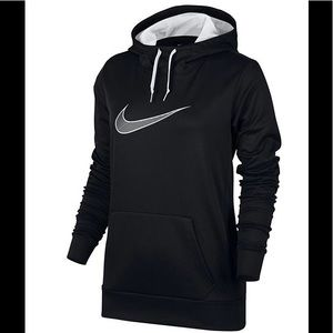Nike women's medium therma fleece training hoodie
